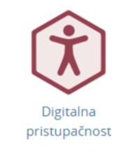 """Digitalna značka e-tečaja """"Digitalna pristupačnost"""""""