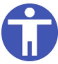 Ikona widget-a za pristupačnost