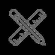 Ikona geometrijskog pribora